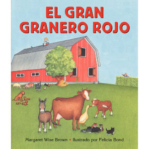 Big Red Barn Board Book (Spanish edition)
