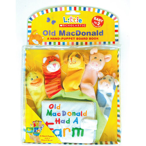 Little Scholastic: Old Macdonald: A Hand-puppet Board Book